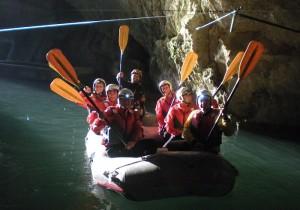 Speleo Raft - grotte di Pertosa