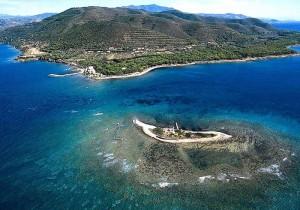 Punta Licosa - isola