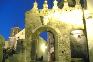 Ingresso Agropoli vecchia - porta greco-bizantina