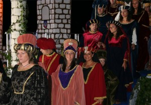 Festa medievale - sfilata in costume