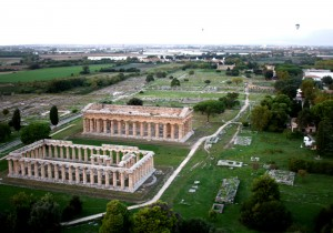 Area archeologia di Paestum