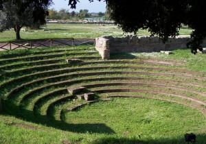 Anfiteatro romano Paestum