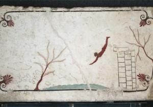 Tomba del tuffatore - Museo Paestum